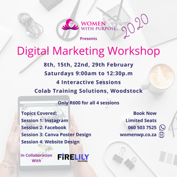 digital marketing worksop february 2020 cape town
