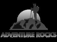 Adventure Rocks Grayscale